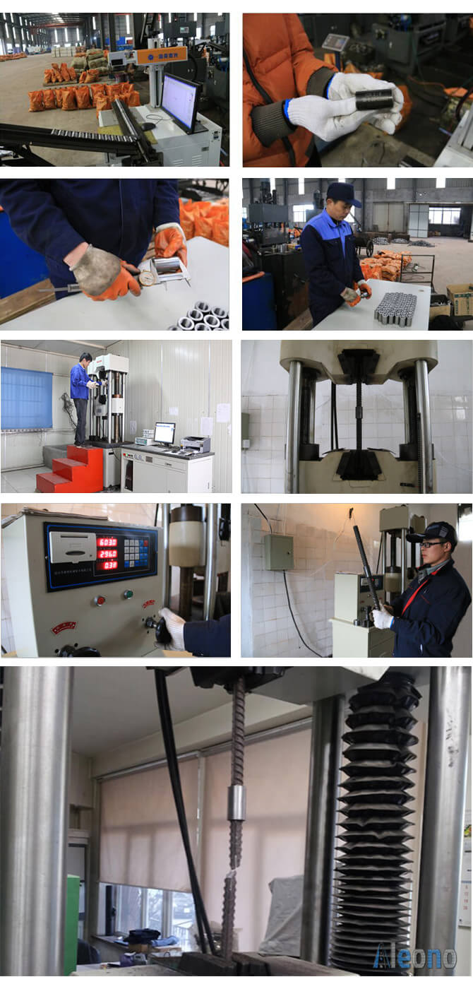 Quality Control - Standard Rebar Coupler
