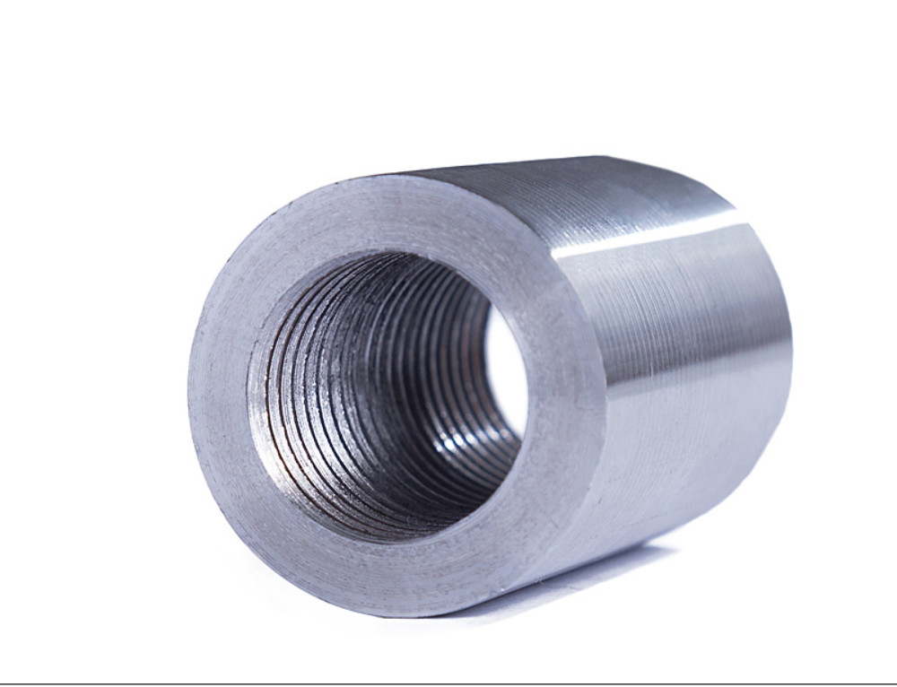 Threaded Bar Couplers : Standard rebar coupler parallel threaded
